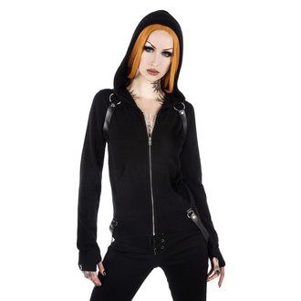 mikina dámska KILLSTAR - Killafornia Knit - Black, KILLSTAR