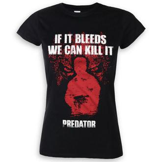tričko dámske Predator - If It Bleeds - Black - HYBRIS, HYBRIS, Predator