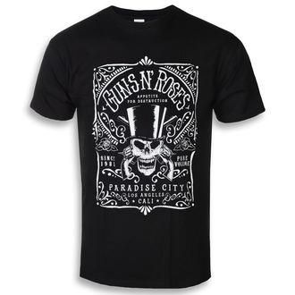 tričko pánske Guns N' Roses - Bourbon - ROCK OFF, ROCK OFF, Guns N' Roses