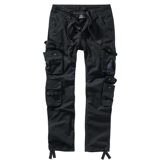 nohavice pánske BRANDIT - Pure slim fit - 1016-black