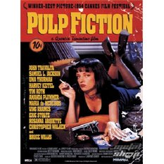 obraz 3D Pulp Fiction (One-sheet) - PPL70031, PYRAMID POSTERS, Pulp Fiction