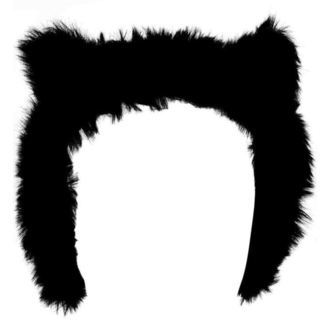 klapky na uši KILLSTAR - Le Chat Noir Ear Muffs - Black, KILLSTAR