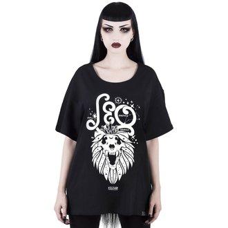 tričko dámske KILLSTAR - Leo - BLACK, KILLSTAR
