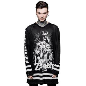 tričko pánske s dlhým rukávom (dres) KILLSTAR - ROB ZOMBIE - Living Dead Girl, KILLSTAR, Rob Zombie