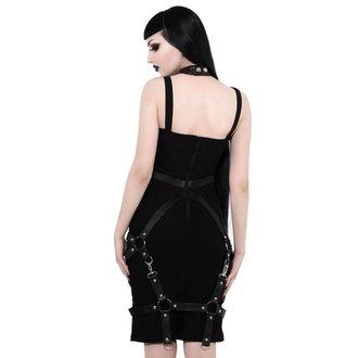 šaty dámske KILLSTAR - Locked Away - BLACK, KILLSTAR