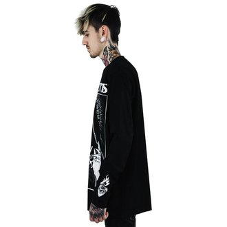 tričko pánske s dlhým rukávom KILLSTAR - Love Hurts - BLACK, KILLSTAR