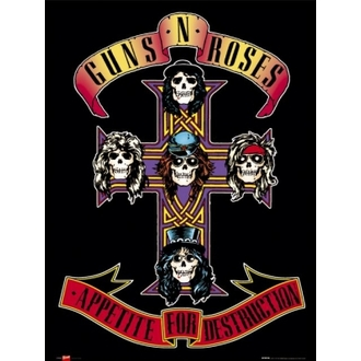 plagát - Guns N' Roses 'Appetite' - LP0948, GB posters, Guns N' Roses