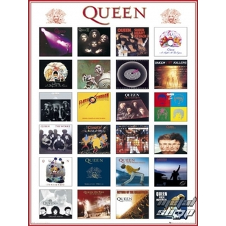 plagát - Queen - LP1158 - GB posters