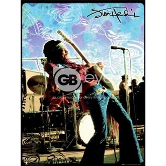 plagát - JIMI HENDRIX live - LP1270, GB posters, Jimi Hendrix