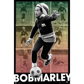 plagát Bob Marley - Football S.O.S - GB Posters, GB posters, Bob Marley