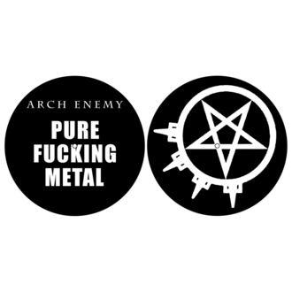 podložka na gramofón (set 2ks) ARCH ENEMY - PURE FUCKING METAL - RAZAMATAZ, RAZAMATAZ, Arch Enemy