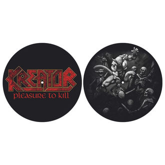 podložka na gramofón (set 2ks) KREATOR - PLEASURE TO KILL - RAZAMATAZ