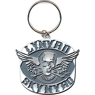 kľúčenka - prívesok Lynyrd Skynyrd (Biker Patch Logo) - ROCK OFF, ROCK OFF, Lynyrd Skynyrd