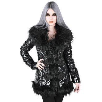 kabát dámsky KILLSTAR - Lucine Puff - BLACK, KILLSTAR