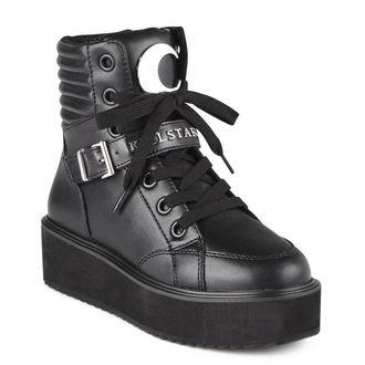topánky KILLSTAR - LUNA HIGH TOPS - BLACK, KILLSTAR