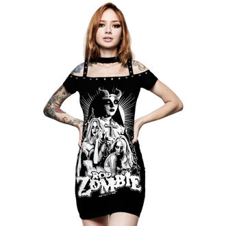 šaty dámske KILLSTAR - Rob Zombie - Lust For Death - BLACK, KILLSTAR, Rob Zombie