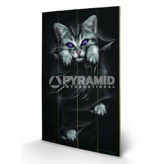 drevený obraz Spiral (Bright Eyes) - Pyramid Posters, SPIRAL