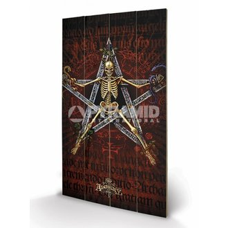 drevený obraz Alchemy (Alchantagram) - Pyramid Posters, ALCHEMY GOTHIC