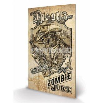 drevený obraz Alchemy (Zombie Juice) - Pyramid Posters, ALCHEMY GOTHIC