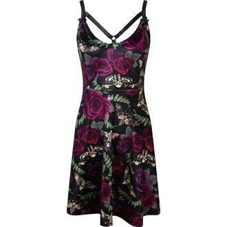 šaty dámske KILLSTAR - LYDIA NIGHTLIFE - BLACK