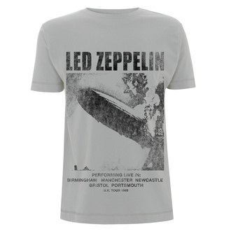 tričko pánske - Led Zeppelin - UK Tour 1969 LZ1 Ice - Grey, NNM, Led Zeppelin