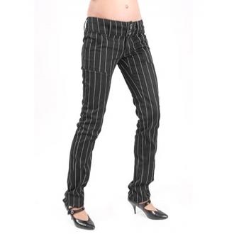 nohavice dámske ADERLASS - Pretty Low-Cut Pin Stripe, MODE WICHTIG
