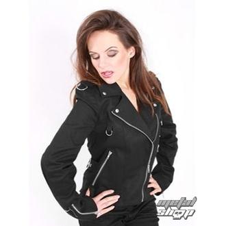 kabátik dámsky Mode Wichtig - Biker Jacket Denim, MODE WICHTIG