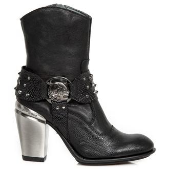 topánky dámske NEW ROCK - BUFALO WILD NEGRO - Piton NEGRO, NEW ROCK