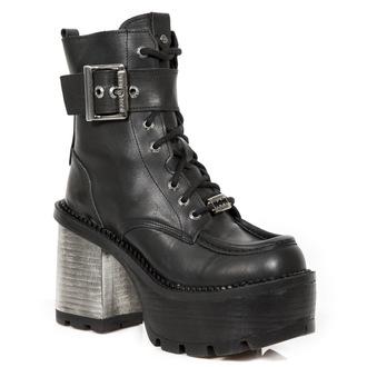topánky dámske NEW ROCK - CRUST NEGRO, SEVENTY NEGRO, NEW ROCK