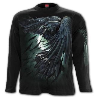 tričko pánske s dlhým rukávom SPIRAL - SHADOW RAVEN, SPIRAL