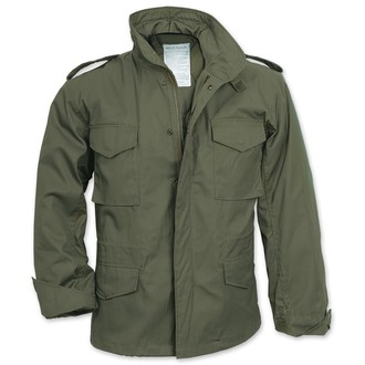 bunda pánska zimný SURPLUS - FIELDJACKET M 65 - OLIVA, SURPLUS