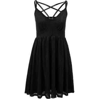 šaty dámske KILLSTAR - MADELYN SUN - BLACK