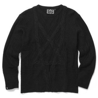 sveter (unisex) KILLSTAR - MAGUS KNIT - BLACK
