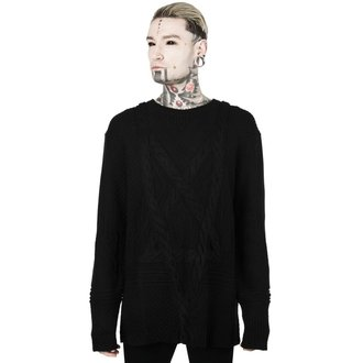 sveter (unisex) KILLSTAR - MAGUS KNIT - BLACK, KILLSTAR