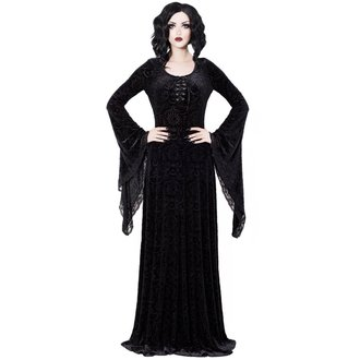 šaty dámske KILLSTAR - Mai - BLACK, KILLSTAR