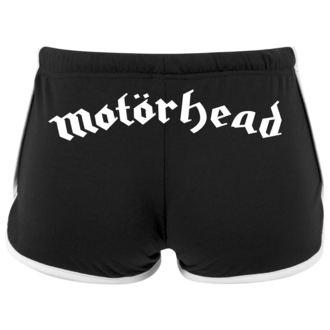 kraťasy dámske Motörhead - Logo - URBAN CLASSICS, URBAN CLASSICS, Motörhead