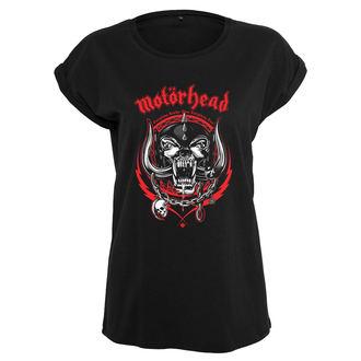 tričko dámske Motörhead - Razor - black - URBAN CLASSICS, NNM, Motörhead
