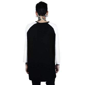 tričko pánske s 3/4 rukávom KILLSTAR - Memento Mori - BLACK, KILLSTAR