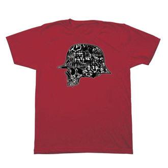 tričko pánske METAL MULISHA - CASE - RED, METAL MULISHA