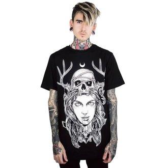 tričko pánske KILLSTAR - Moon Magic - BLACK, KILLSTAR