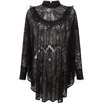 tričko dámske s dlhým rukávom (tunika) KILLSTAR - MORTE MISTRESS - BLACK