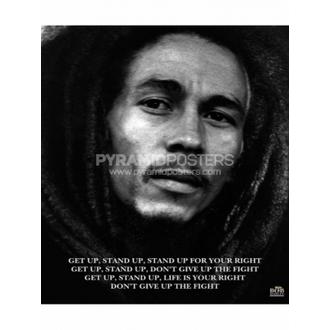 Plagát - Bob Marley (Get Up, Stand Up) - MPP50072, PYRAMID POSTERS, Bob Marley