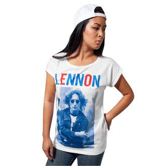 tričko dámske Beatles - John Lennon - Bluered, John Lennon