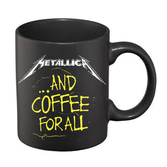 hrnček Metallica - And Coffee For All Matte - Black, Metallica