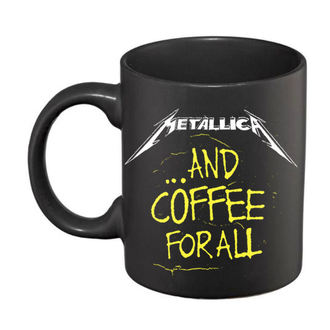 hrnček Metallica - And Coffee For All Matte - Black, NNM, Metallica