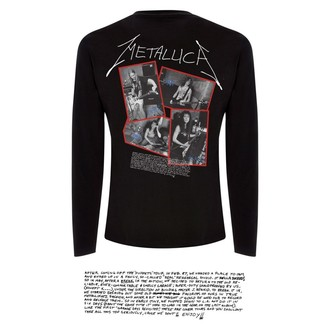 tričko pánske s dlhým rukávom Metallica - Garage Cover - Black, Metallica