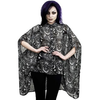 blúzka dámska KILLSTAR - NEW MOON BATWING - BLACK, KILLSTAR