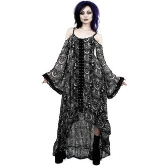 šaty dámske KILLSTAR - NEW MOON MAIDEN - BLACK, KILLSTAR
