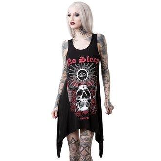 šaty dámske (tunika) KILLSTAR - NO SLEEP DECADENCE - BLACK, KILLSTAR