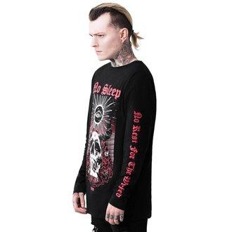 tričko pánske s dlhým rukávom KILLSTAR - NO SLEEP LONG - BLACK, KILLSTAR
